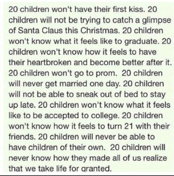 RIP Sandy Hook Elementary School Victims