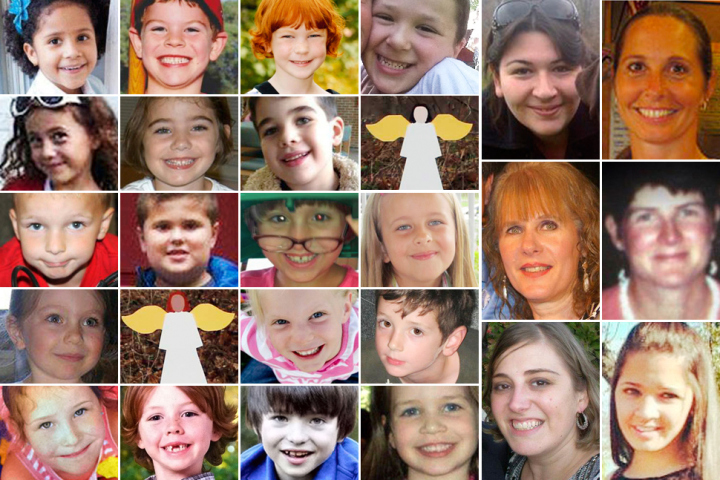 Below is a list of all the victims of Sandy Hook Elementary School
